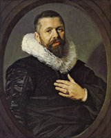 Frans Hals Portrait of a Bearded Man with a Ruff