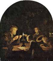 Gerard Dou An Evening School