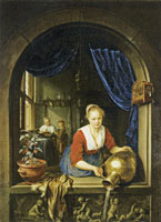 Gerard Dou Maid at a Window