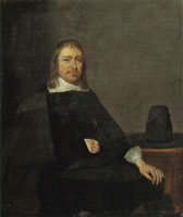 Gerard ter Borch Portrait of a Seated Man