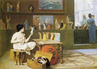 Jean-Léon Gérôme Painting Breathes Life into Sculpture