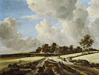Jacob van Ruisdael Wheat Fields