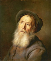Jan Lievens Bearded Man with a Beret