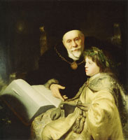 Jan Lievens Prince Charles Louis with His Tutor