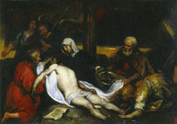 Jan Lievens The Lamentation of Christ (modello)