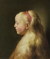 Jan Lievens Young Girl in Profile