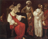 Jan Pynas Joseph Accused by Potiphar's Wife