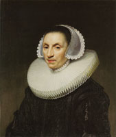 Jan van Ravesteyn Portrait of a Woman