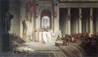 Jean-Léon Gérôme The Death of Caesar
