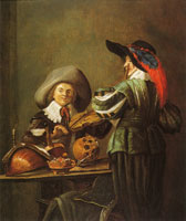 Judith Leyster Two Musicians