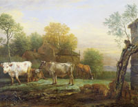 Paulus Potter Cows in a Meadow