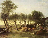 Paulus Potter Farm near The Hague