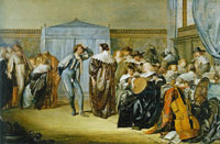 Pieter Codde Company with Masked Dancers