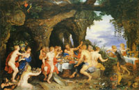Peter Paul Rubens and Jan Brueghel the Elder The Feast of Acheloüs