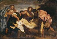 Titian Entombment of Christ