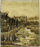 Vincent van Gogh Ditch