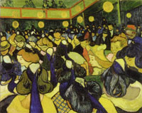 Vincent van Gogh The Dance Hall