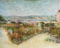 Vincent van Gogh The Gardens of Montmartre