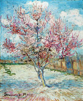 Vincent van Gogh Pink Peach Trees