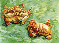 Vincent van Gogh - Two Crabs