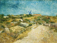 Vincent van Gogh Vegetable Gardens in Montmartre