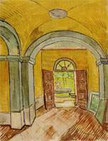 Vincent van Gogh The Vestibule of the Asylum