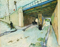 Vincent van Gogh The Viaduct