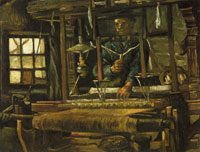 Vincent van Gogh Weaver, Seen from the Front