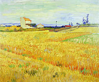 Vincent van Gogh Wheat Field