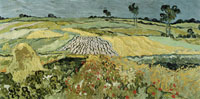 Vincent van Gogh Wheat Fields