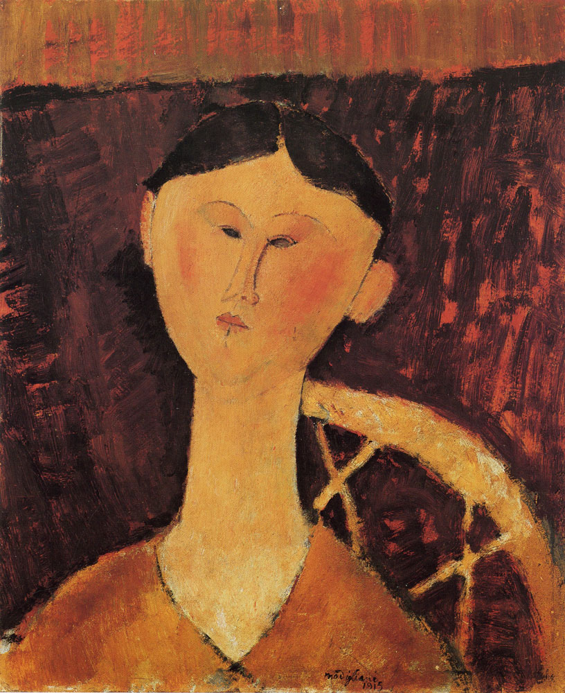 Amedeo Modigliani - Portrait of Mrs. Hastings