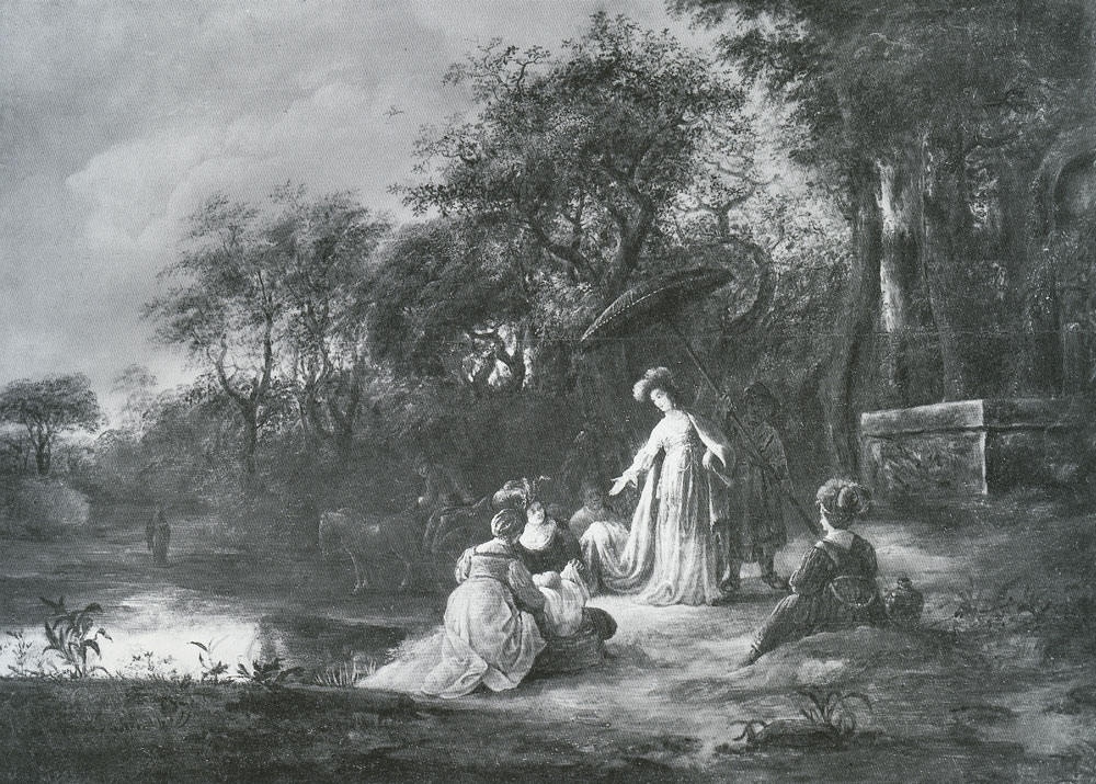 Jacob de Wet - The Finding of Moses