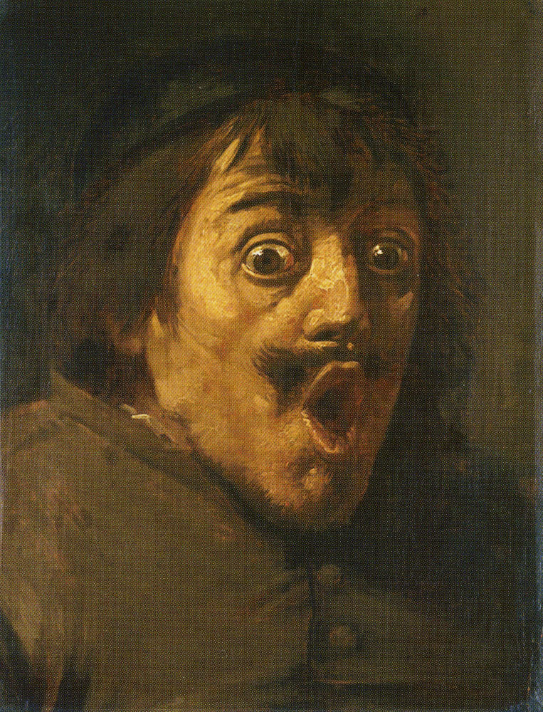 Joos van Craesbeeck - A Man Surprised