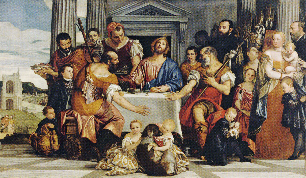 Paolo Veronese - Supper at Emmaus