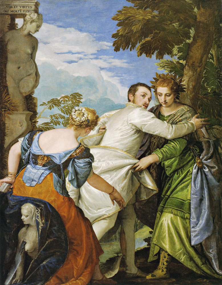 Paolo Veronese - Allegory of Virtue and Vice (The Choice of Hercules)