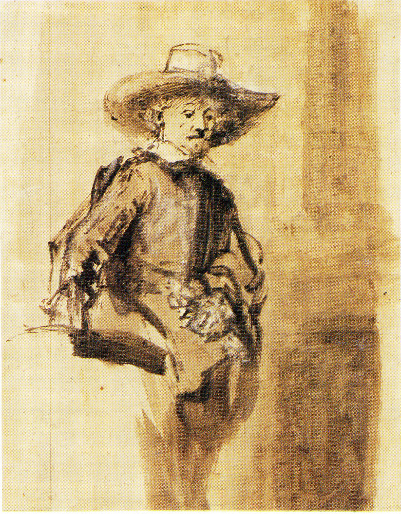 Rembrandt - A Syndic Standing