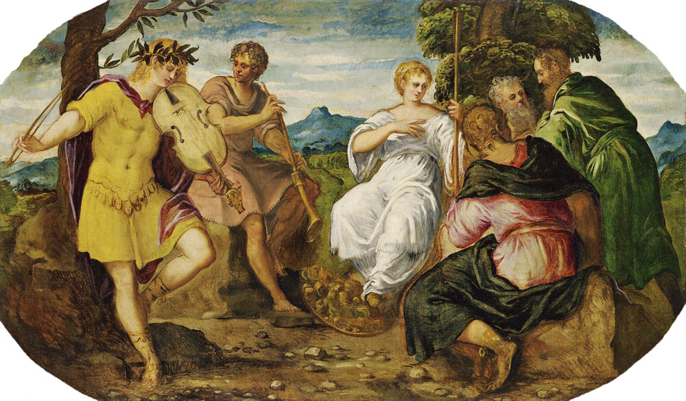 Tintoretto - Contest between Apollo and Marsyas