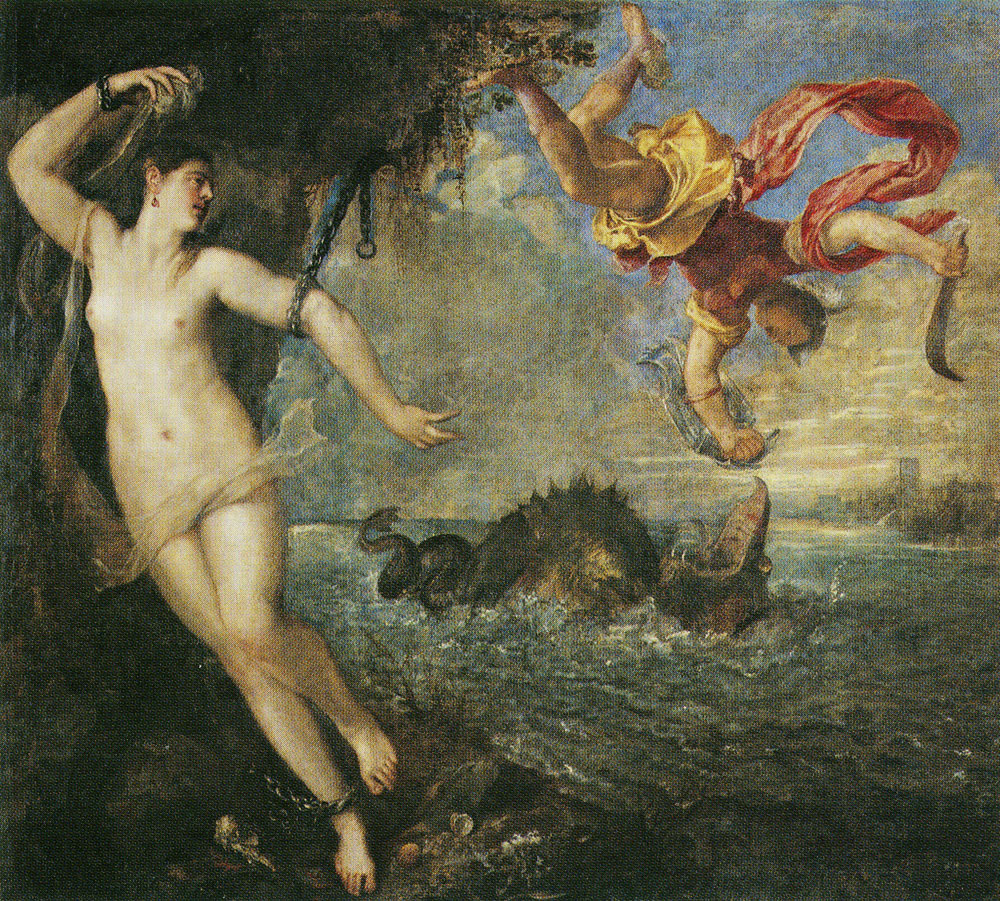 Titian - Perseus and Andromeda