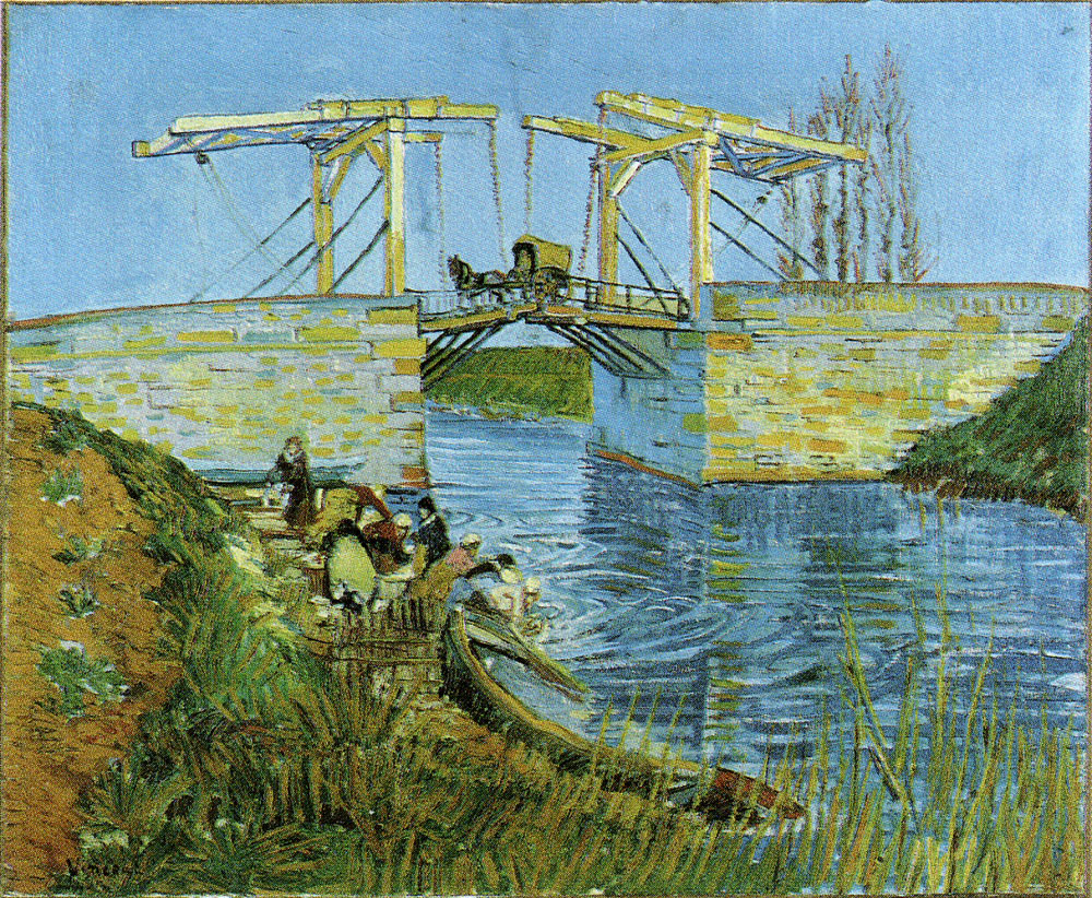 Vincent van Gogh - Drawbridge with Carriage
