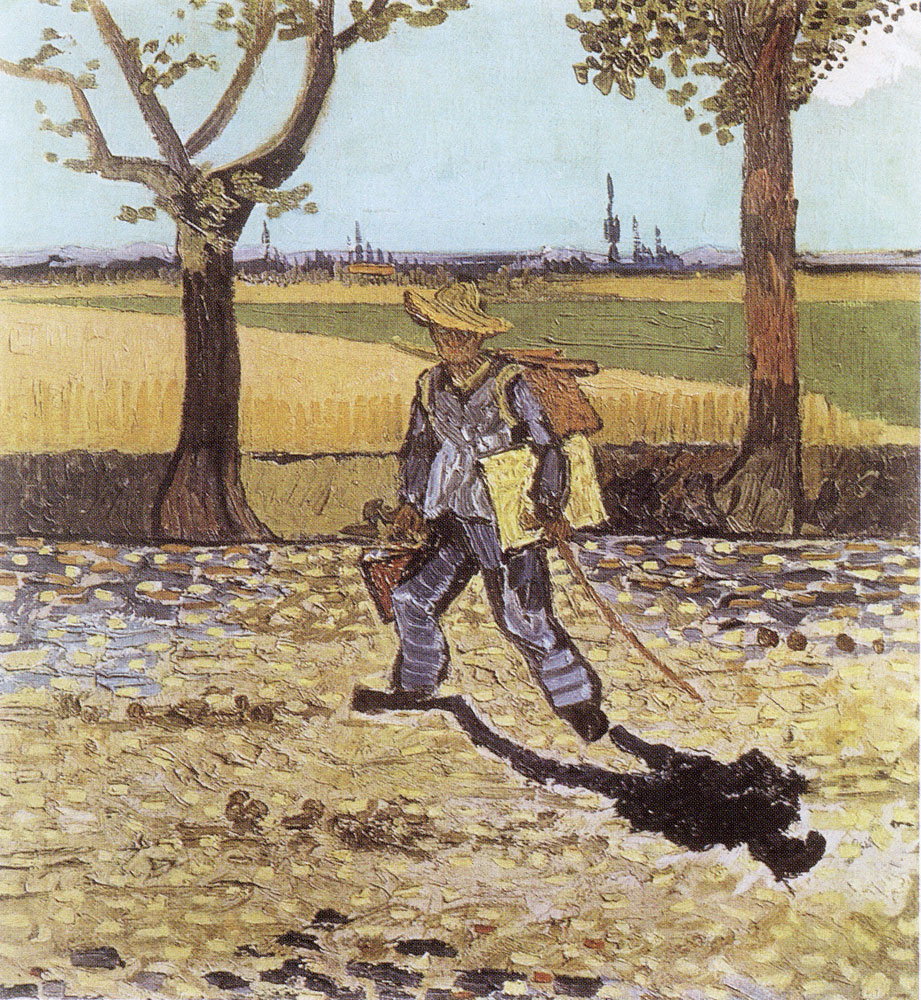 Vincent van Gogh - The Painter on the Road to Tarascon