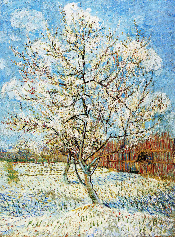Vincent van Gogh - Pink Peach Trees