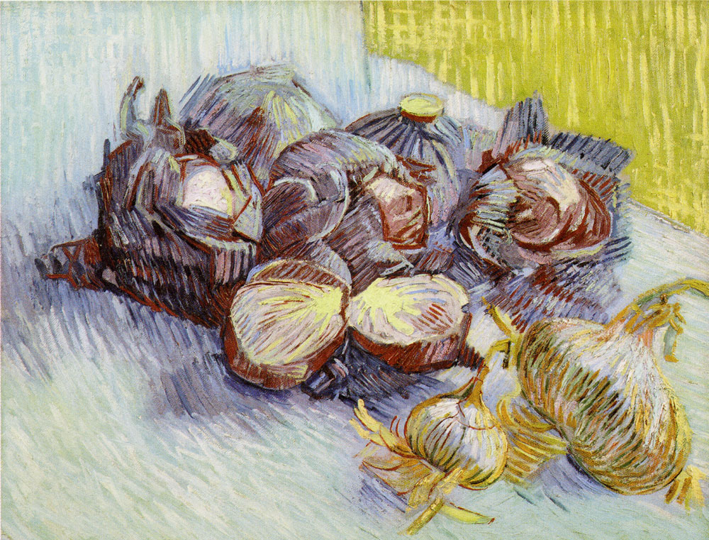 Vincent van Gogh - Red Cabbages and Onions