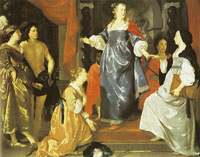 Abraham van den Tempel The Maid of Leiden Welcomes 'Nering'
