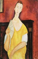 Amedeo Modigliani Portrait of Lunia Czechowska