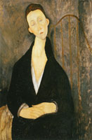 Amedeo Modigliani - Lunia Czechowska in Black