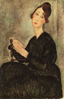 Amedeo Modigliani Portrait of Dedie (Odette Hayden)
