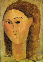 Amedeo Modigliani Portrait of a Young Girl