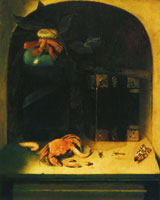 Constantijn Verhout Still Life with a Crab