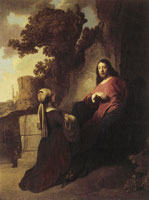 Govert Flinck Jesus and the Samaritan Woman