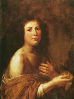 Govert Flinck Young Woman in a Gold-Brown Robe